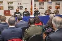 La fase presencial del VII Curso de Gestión de Catástrofes ha comenzado tras la ceremonia oficial en la Sala Histórica del Cuartel General,presidida por el Jefe de la UME